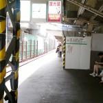 若江岩田駅上り線の高架変更は2014年9月から