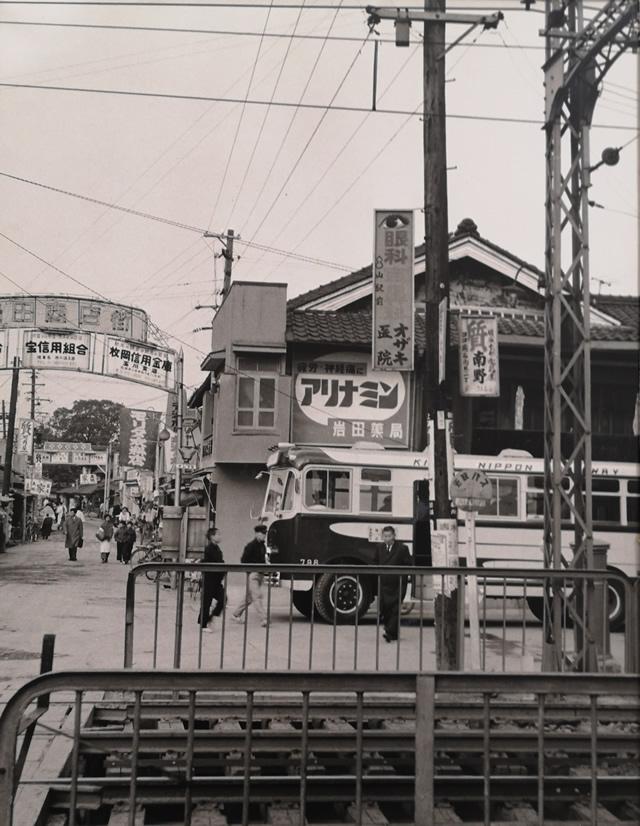 昭和35年 若江岩田駅